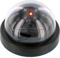 Dummy Security Camera with Red Flashing Light