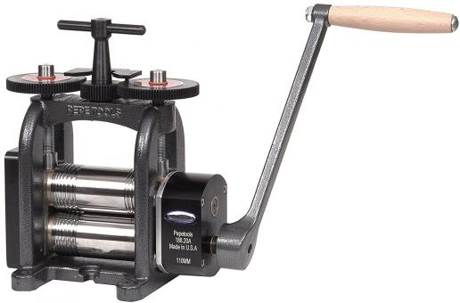 110 mm Kombinations-Kaltwalze / Blechwalze von Pepetools