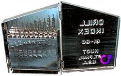 20-teiliger Bohrer-Satz in Metallbox
