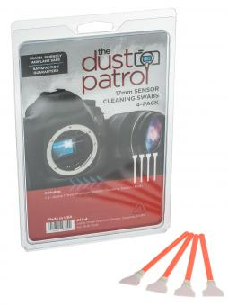The Dust Patrol 4x Alpha Swabs APS-C 17mm