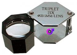 Loupe, Triplet 15X Hex