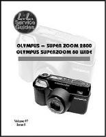 L.L. Service Guide - Olympus Inf. 2800