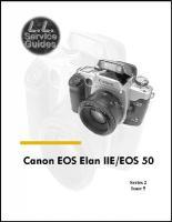 L.L. Service Guide - Canon EOS Elan IIE