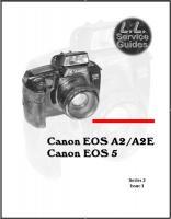 L.L. Service Guide - Canon EOS A2/A2E
