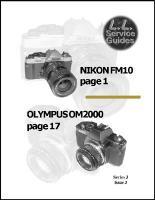 L.L. Reparatur-Anleitung - Nikon FM10
