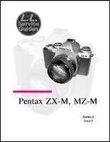 L.L. Service Guide - Pentax IQ Zoom 115