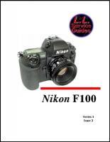 L.L. Service Guide - Nikon F100