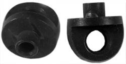 Leica M6 strap lug pair black