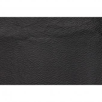 Leather, Morocco Grain Black 2 Sq Feet