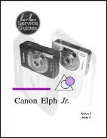 L.L. Service Guide - Canon Elph Jr