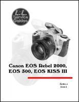 L.L. Service Guide - Canon EOS Rebel2000